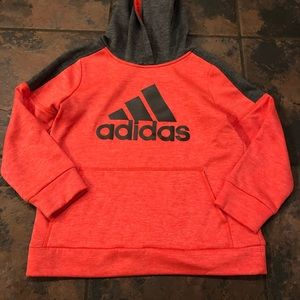 Adidas hooded sweatshirt size 7x